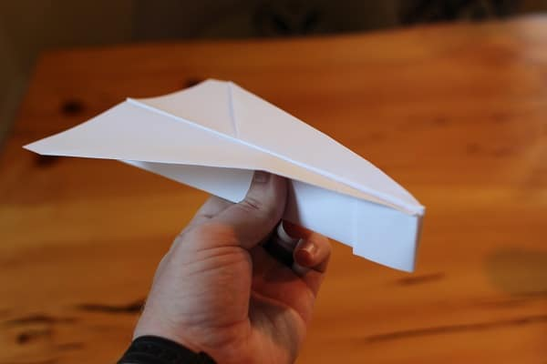 How to make a paper airplane that FLIES   Jet Fighter paper planes   Eurofighter   YouTube