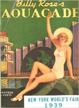 1930 new york world fair poster billy rose aquacade