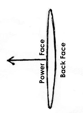 canoe paddle cross section diagram illustration