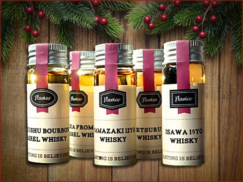 Flaviar whiskey spirits subscription service.