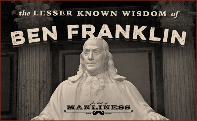 benjamin franklin quotes marble statue