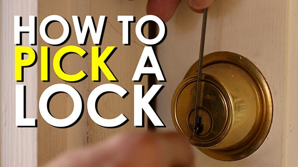 Lock Picking Diagrams Was on Lock Picking