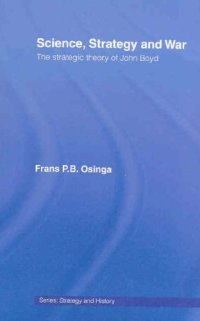 science strategy and war book cover ooda loop frans osinga