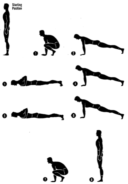 8 count push up
