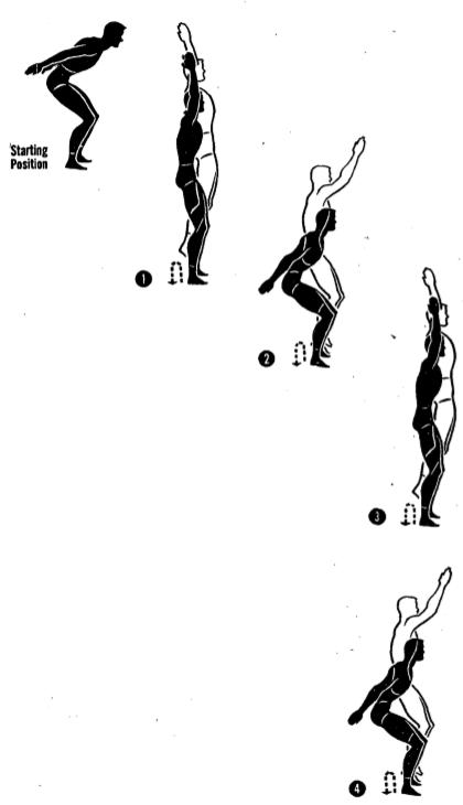 Army physical training DBL high jumper 3.