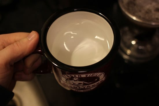 hot water in art of manliness mug