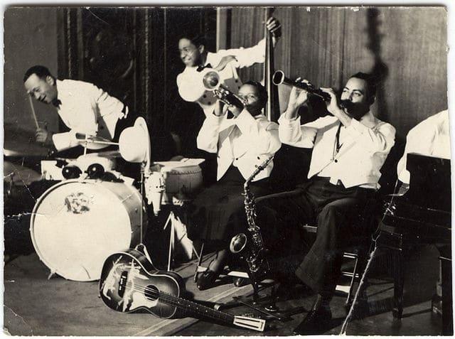 Vintage jazz group.