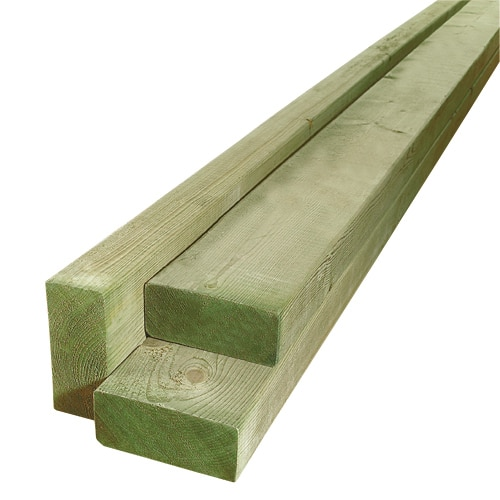 Three softwood lumber with white background.