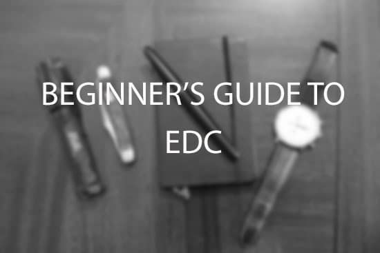 beginner's guide to edc everyday carry