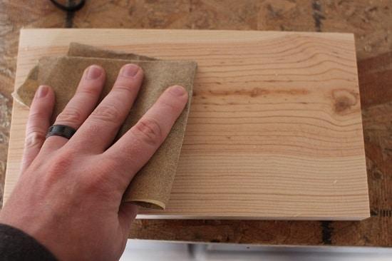 sanding pine
