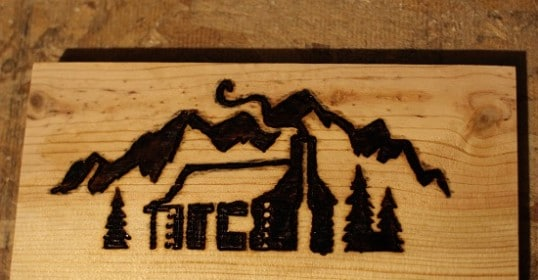 woodburning complete