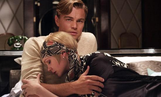 Leonardo Dicaprio holding Daisy.