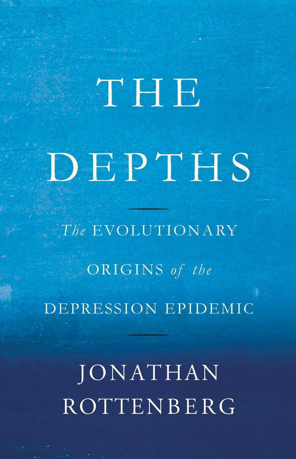 The depths, book cover by Jonathan rottenberg.