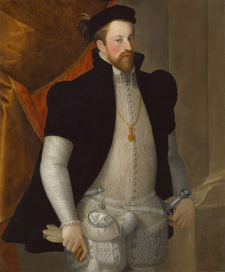 Ferdinand II, Archduke of Further Austria painting portrait.