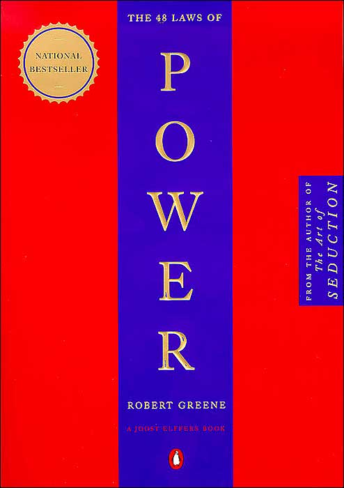 The 48 Laws of Power book cover Robert Greene.