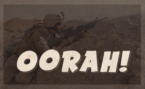 marine corps oorah battly cry