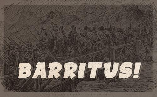 roman barritus battle cry