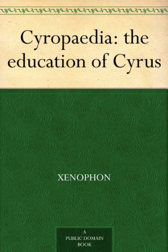Cyropaedia book cover Xenophon.