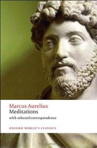Meditations book cover Marcus Aurelius.