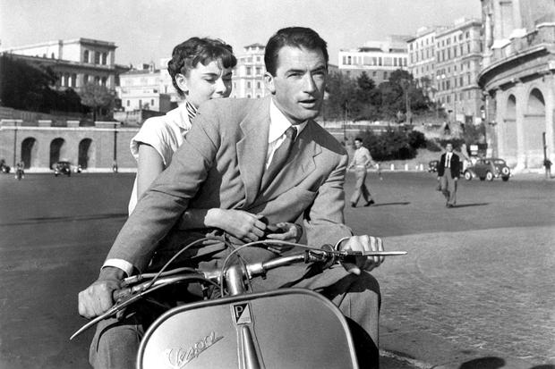 Roman Holiday scooter ride