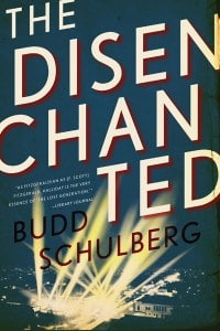 The Disenchanted book cover Budd Schulberg.