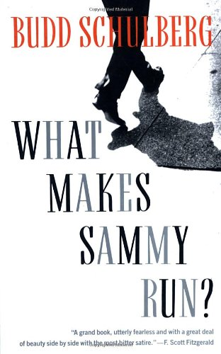 What Makes Sammy Run book cover Budd Schulberg.