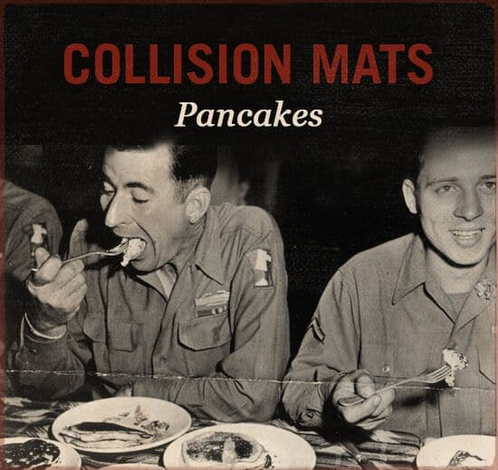 collision mats wwii slang world war ii pancakes