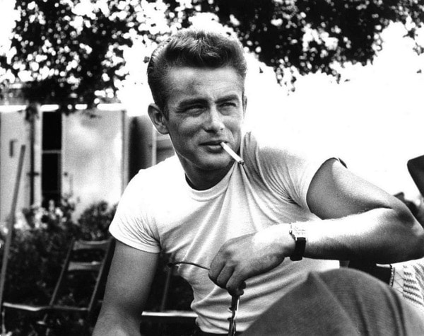 James Dean t-shirt, cool.