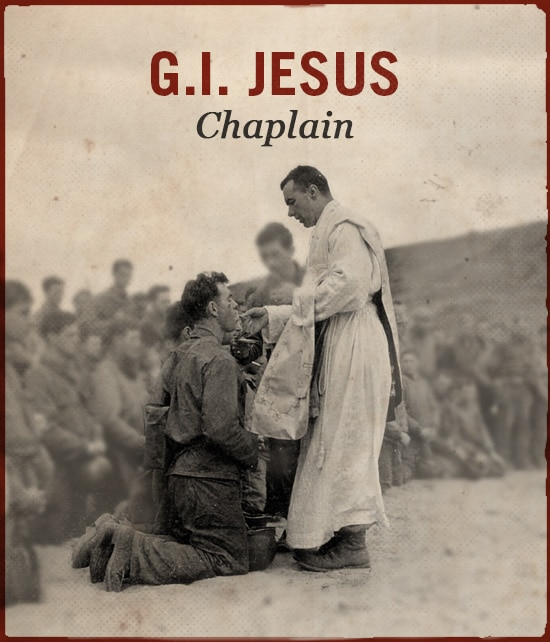G.I. Jesus chaplain WWII slang.