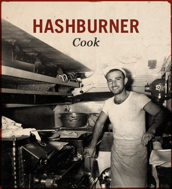 hashburner wwii slang world war ii cook