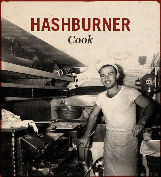 Hashburner WWII slang cook.