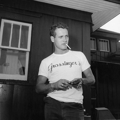 Paul Newman graphic tee vintage