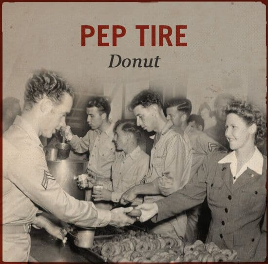 pep tire wwii slang world war ii donut