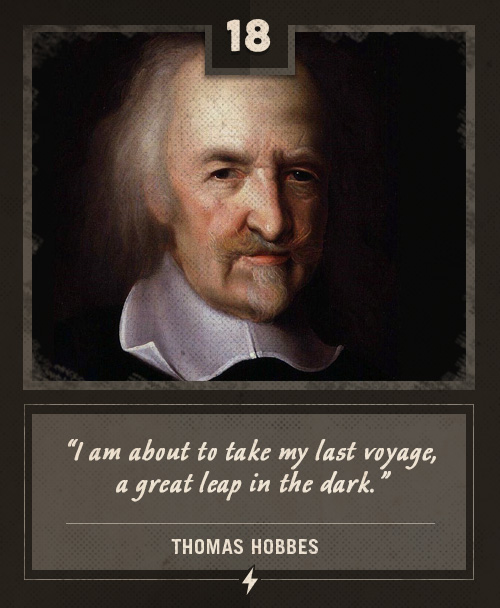 thomas hobbes last words