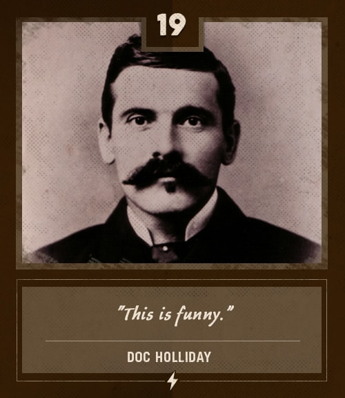 doc holliday last words