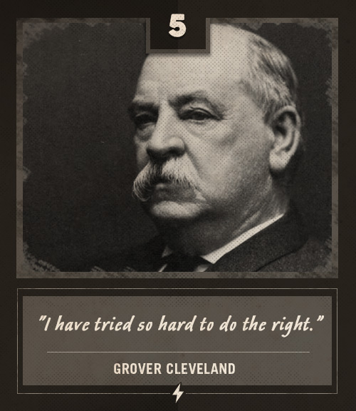 grover cleveland last words