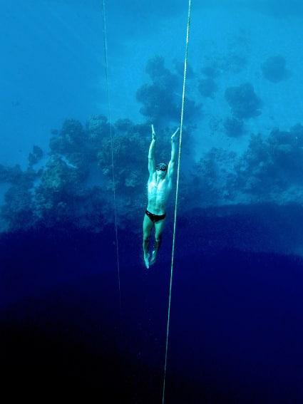 deep sea freediver free diver