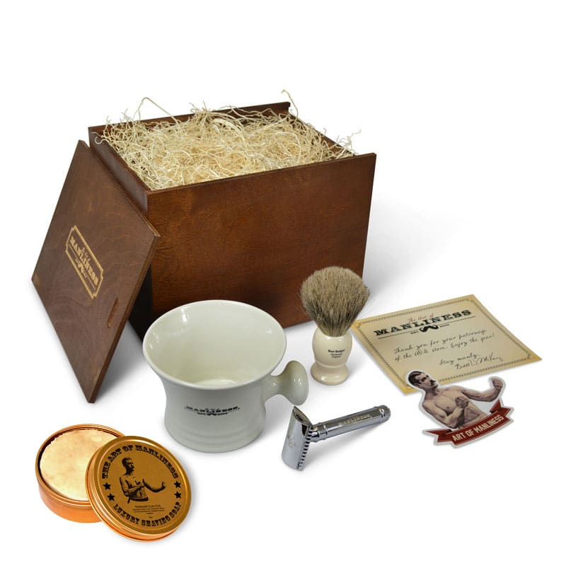 shaving kit boxed set