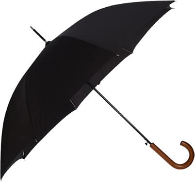 black men's umbrella from barney's new york