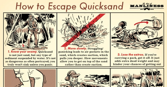 escape quicksand illustrated guide illustration