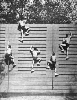 Georges Hebert history parkour natural method obstacles climb