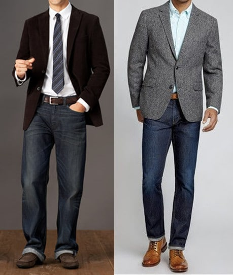 Random musings: How to Wear a Sports Jacket With Jeans