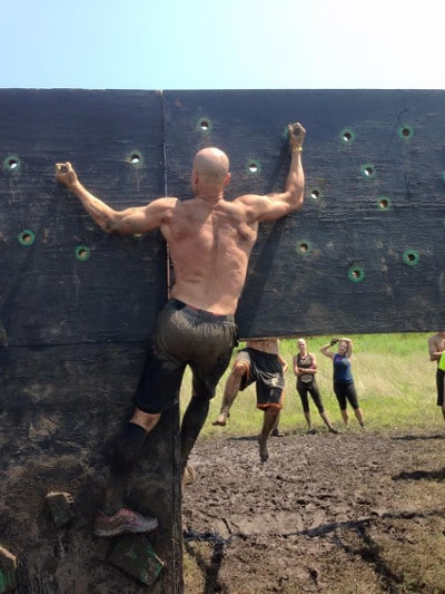 conquer the gauntlet obstacle race peg board