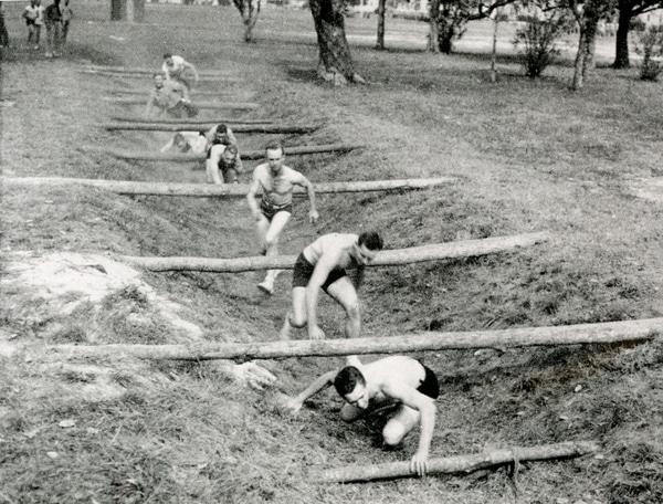 Navy training.