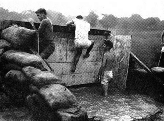 obstacle course wwii princeton 1943