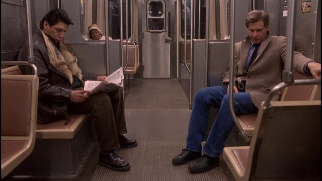 sports jacket coat fugitive harrison ford subway