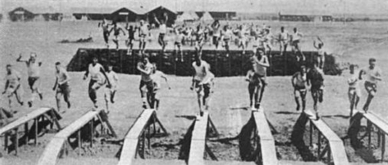 wwi world war I obstacle course