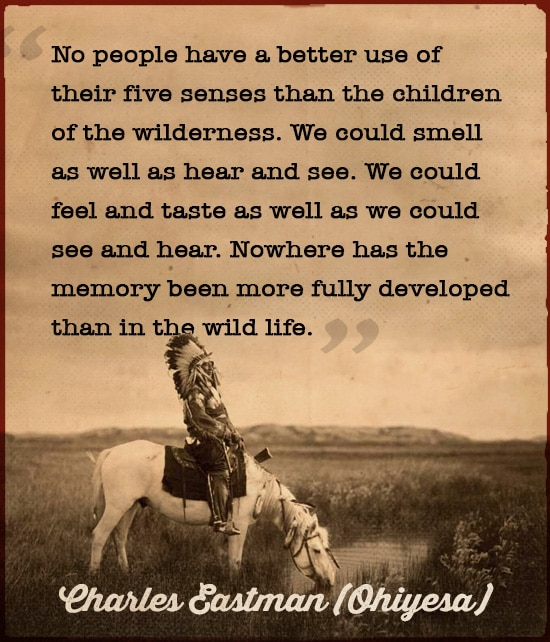 charles eastman ohiyesa quote native american wisdom