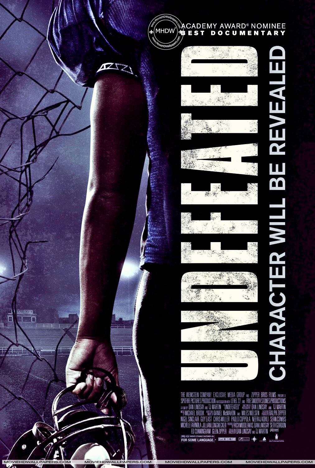 undefeated documentary poster best football movies