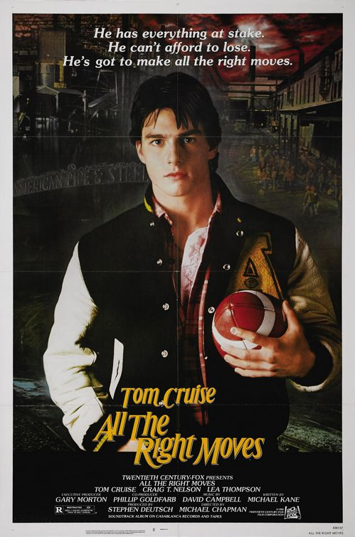 All the Right Moves poster best Football Movies.